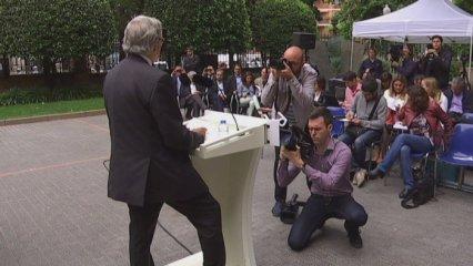 CIU: Xavier Trias fa propostes sobre recerca i Josep Rull visita Mataró