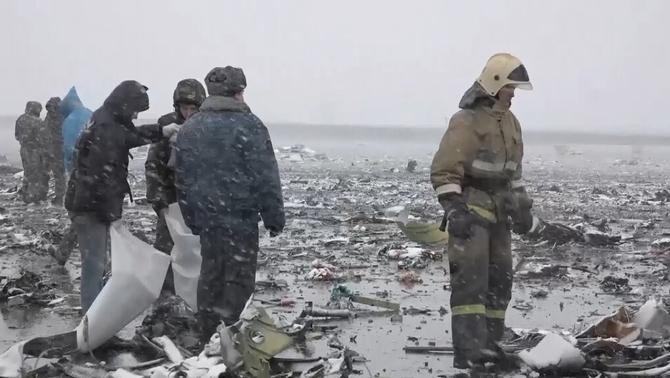 62 morts a Rússia en l'accident d'un Boeing 737 de la companyia de baix cost FlyDubai