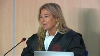 """Virginia López Negrete, advocada de Manos Limpias, al judici pel """"cas Nóos"""""""