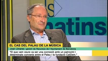 """Joan Llinares: """"No tinc cap dubte que al Palau hi va haver un finançament il·legal de Convergència"""""""