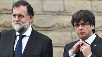 Mariano Rajoy i Carles Puigdemont