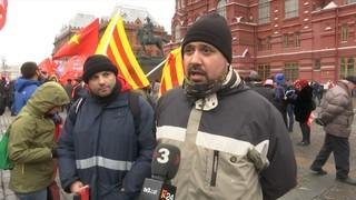 Catalans viatgen a Moscou per celebrar el centenari de la Revolució Russa
