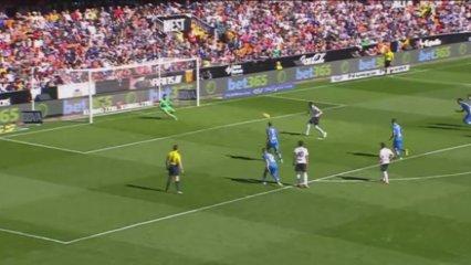El gol del València - Getafe (1-0)