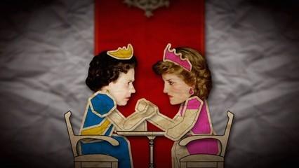 Lady Diana contra Elisabet II. Un duel reial
