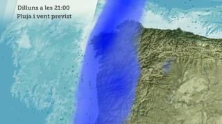 Pluja prevista Galícia