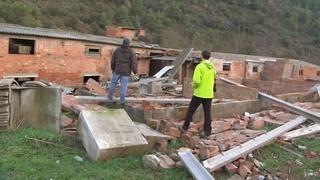 Els experts creuen que van ser dos tornados els que haurien provocat les destrosses al Bages i l'Alt Empordà