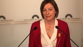"""Carme Forcadell: """"El nou moment polític requereix una figura lliure de processos judicials"""""""