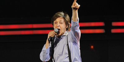 Paul McCartney en concert. (Foto: Reuters)