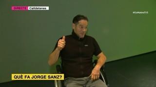 Agustí Forné troba Jorge Sanz per preguntar-li què fa