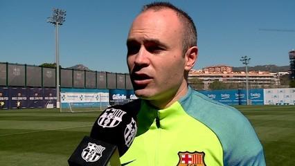 "Iniesta preveu ""una eliminatòria apassionant"""