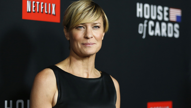 """House of Cards"" se centra en la ""presidenta"" Robin Wright a la nova temporada"