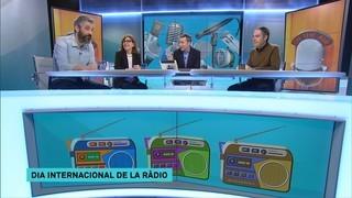 Celebrem el Dia Mundial de la Ràdio amb Rosa Badia, Toni Clapés i Roger de Gràcia