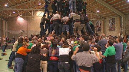 Assaig Castellers Vilafranca