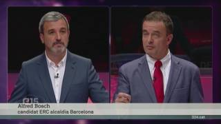 Debat electoral Barcelona al .CAT de TV3