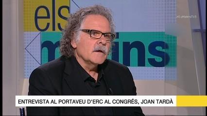 """Joan Tardà: """"El punt de trobada no és el sí a la independència, és la crida a participar en el referèndum"""""""