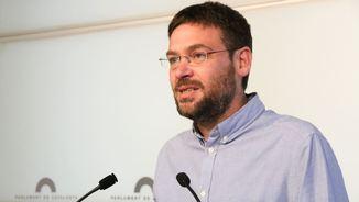 Albano Dante Fachin diu que les bases consideren que Podem Catalunya no es pot mantenir indiferent davant del referèndum (ACN)