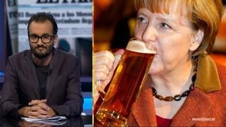 Jair Domínguez i Angela Merkel