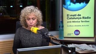 """Portada Terribas: """"I som aquí, les banderes al carrer, i la política espanyola esperant la rendició del projecte independentista"""""""
