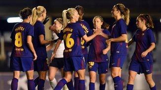 El Barça femení ja és als quarts de final de la Champions