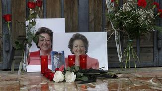 Mostres de condol per la mort de Rita Barberà