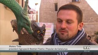Reus s'omple de bèsties populars i festives