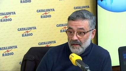 """Carles Riera (CUP): """"La revolució dels somriures continua, però haurem d'ensenyar les dents i les urpes"""""""