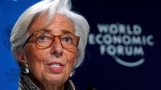 Christine Lagarde, directora de l'FMI