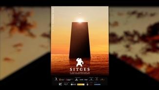 """El cartell del Festival de Sitges, amb el monòlit de """"2001: Una odissea de l'espai"""""""