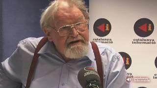 Alasdair Gray conversa amb Adolf Beltran