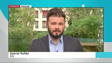 """Gabriel Rufián: """"Espanya s'ha convertit en la nova Turquia"""""""