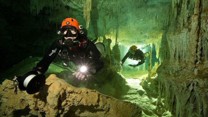 Troben a Mèxic la cova submergida més gran del món, amb més de 300 quilòmetres de llarg