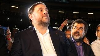 Junqueras i Sànchez, durant un acte a Tarragona els dies previs a l'1-O (ACN)