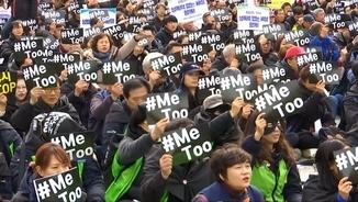 Manifestació del 8M a Seül