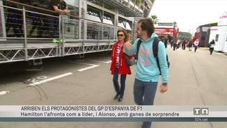 Arriben els protagonistes del GP d'Espanya d'F1