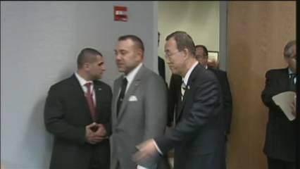 Zapatero i Mohamed VI es fan la foto