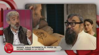 "Imanol Arias presenta la TV Movie: ""Vicenç Ferrer"""