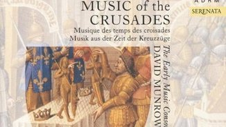 """Music of the crusades"": recordem David Munrow"
