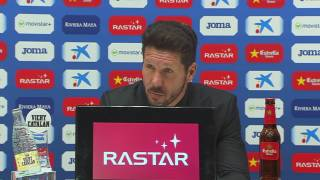 "Simeone: ""Som persistents i intensos"""