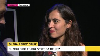 "Sílvia Pérez Cruz presenta nou disc: ""Vestida de nit"""