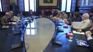 Forcadell reapareix al Parlament després d'haver passat per Alcalá-Meco