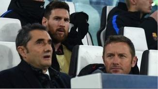 """""""Valverde ha tingut l'autoritat de pactar una suplència amb Messi i no sortir-ne perjudicat"""""""
