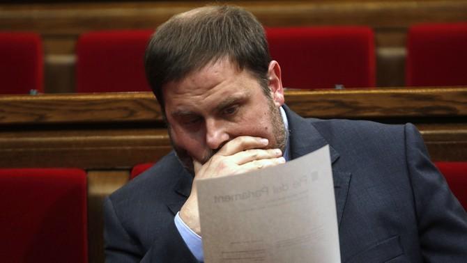 Junqueras no podrà anar a una presó catalana ni assistir als plens del Parlament