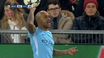 Basilea, 0 - Manchester City, 4