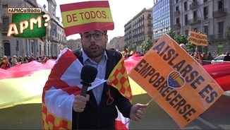"""A la mani de SCC: """"Els independentistes són pitjor que Hitler"""""""
