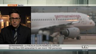Lubitz, únic responsable del sinistre de Germanwings