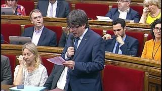 Puigdemont anuncia una borsa de treballadors que vulguin participar en l'organització del referèndum