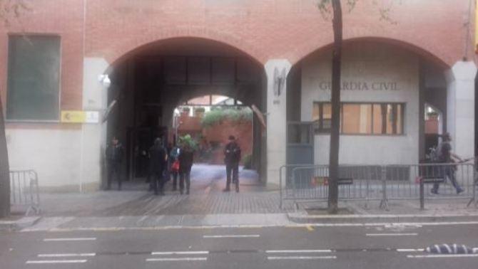 Els responsables de mitjans declaren davant la Guàrdia Civil per l'anunci del referèndum