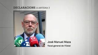 Maza adverteix que Puigdemont pot acabar a la presó si proclama la independència