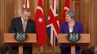 Erdogan carrega des de Londres contra Israel per les morts palestines a Gaza