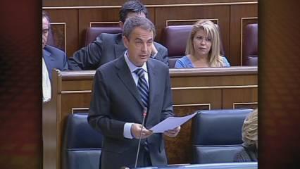 Zapatero diu que hi ha indicis que l'economia millora